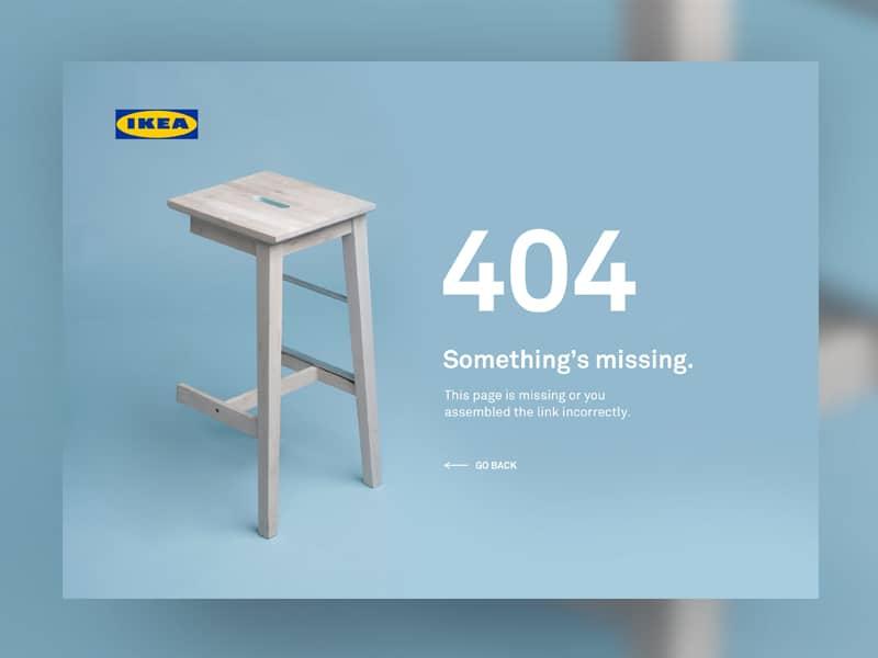 404 PAGE IKEA