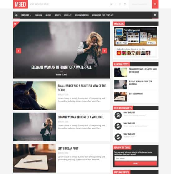 25+ Responsive Theme Free For Blogger 2