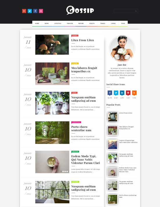 25+ Responsive Theme Free For Blogger 11