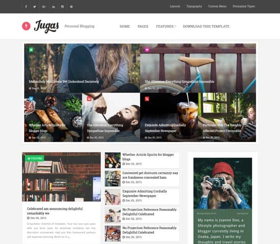25+ Responsive Theme Free For Blogger 13