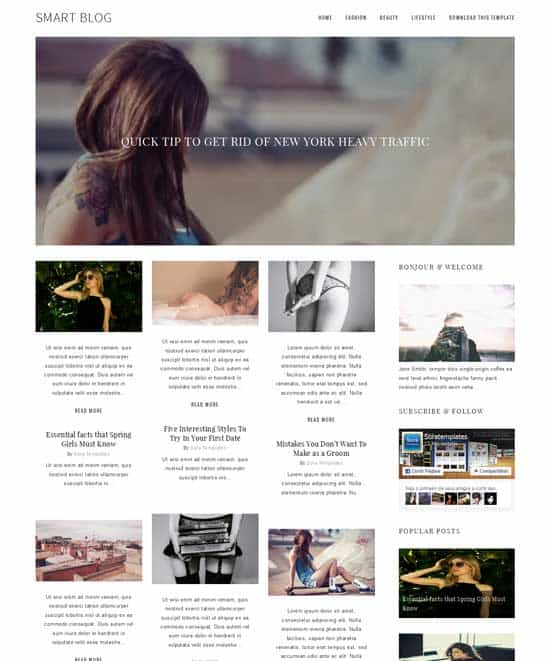 25+ Responsive Theme Free For Blogger 16