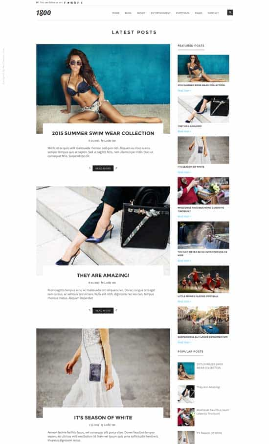 25+ Responsive Theme Free For Blogger 19