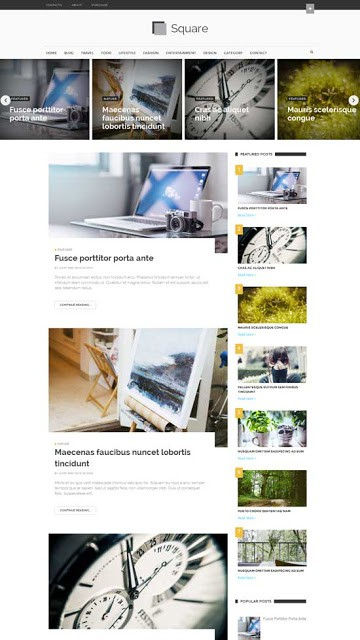 25+ Responsive Theme Free For Blogger 20