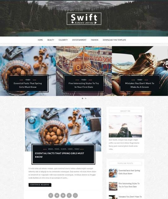 25+ Responsive Theme Free For Blogger 21