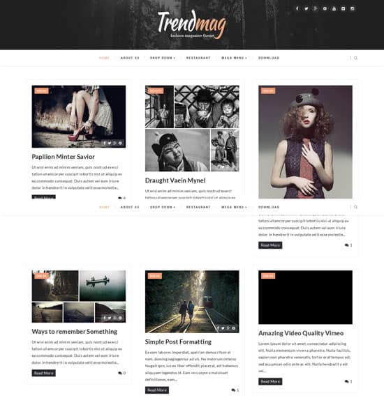 25+ Responsive Theme Free For Blogger 23