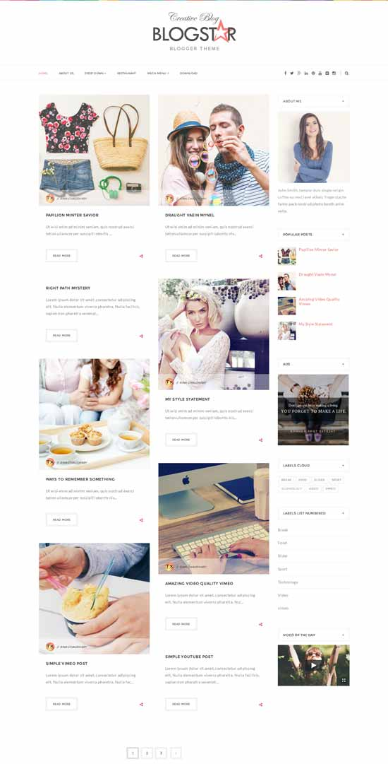 25+ Responsive Theme Free For Blogger 5