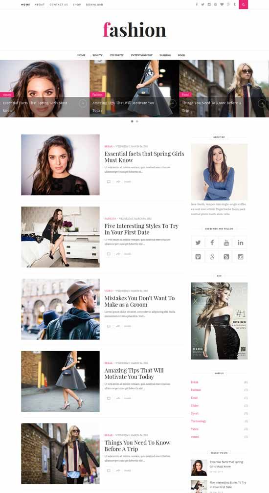 25+ Responsive Theme Free For Blogger 6