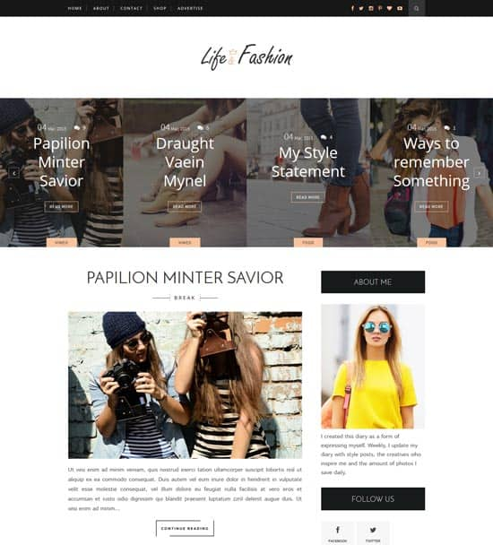 25+ Responsive Theme Free For Blogger 8