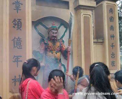 Lễ Chùa Du Yến - Thanh Ba 27