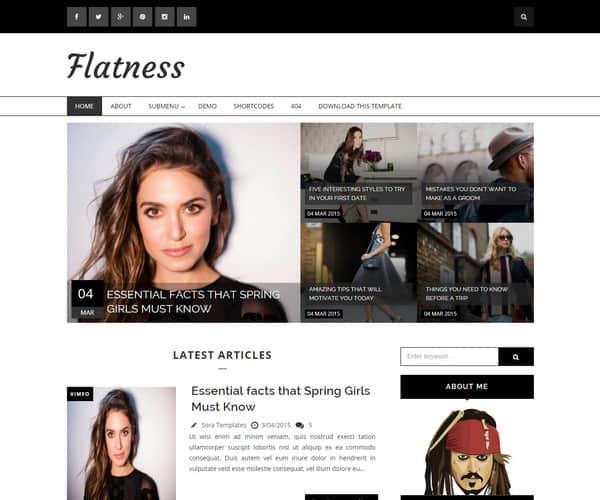 Mẫu Template Blogger Đẹp và Miễn Phí 1