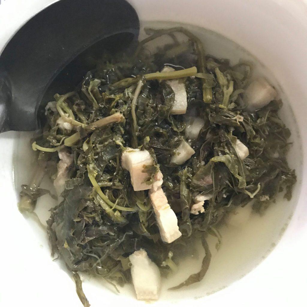 Món canh Rau Sắn của người Phú Thọ có gì đặc biệt ? 8