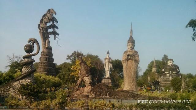 Tết Té Nước Ở Lào - Thái Lan 34