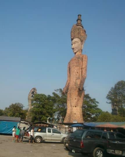 Tết Té Nước Ở Lào - Thái Lan 29
