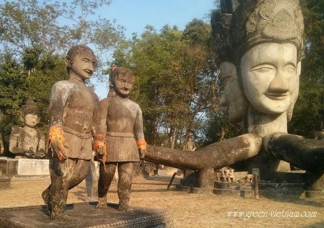 Tết Té Nước Ở Lào - Thái Lan 30