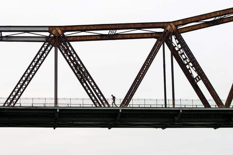 Long Bien Bridge | Designed Gus - thenaynhe | ello